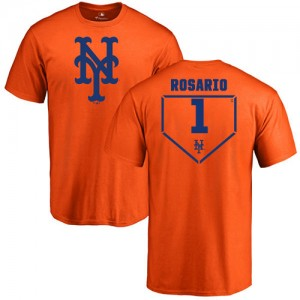 Amed Rosario Orange RBI - #1 Baseball New York Mets T-Shirt