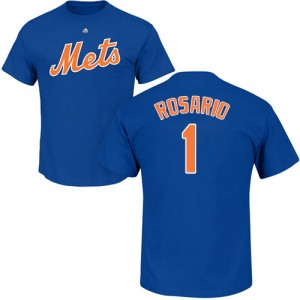 Amed Rosario Royal Blue Name & Number - #1 Baseball New York Mets T-Shirt